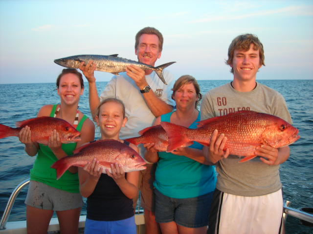 new orleans fishing family
